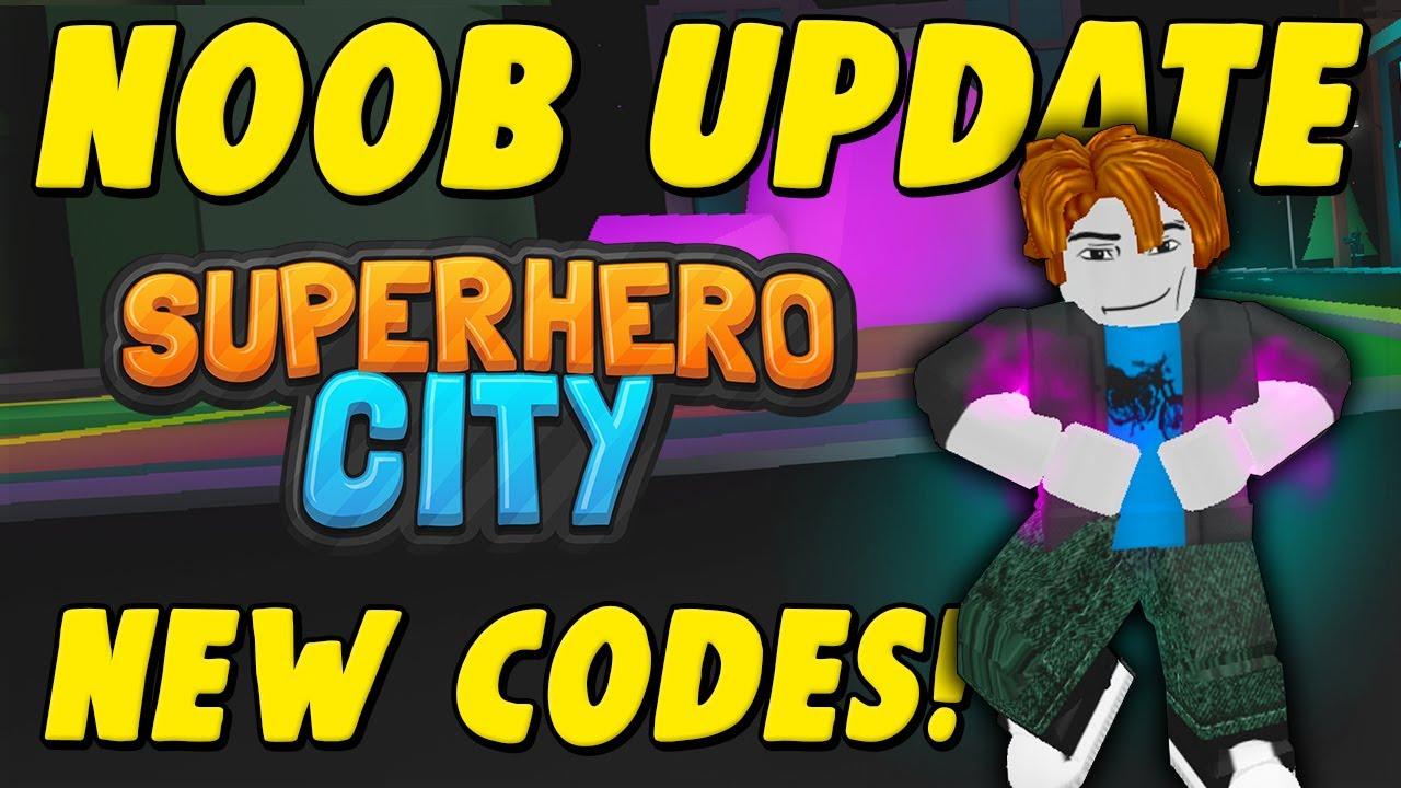 New Insane Update Mobile Noobs Codes More Superhero City