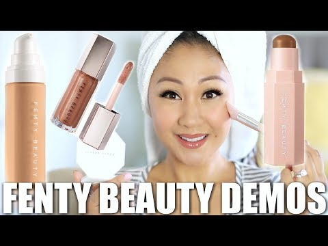 FENTY BEAUTY by RIHANNA REVIEW, DEMO + GRWM!