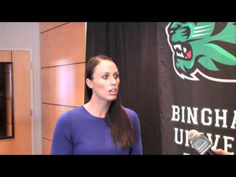 Binghamton University swimming & diving welcomes Amanda Beard