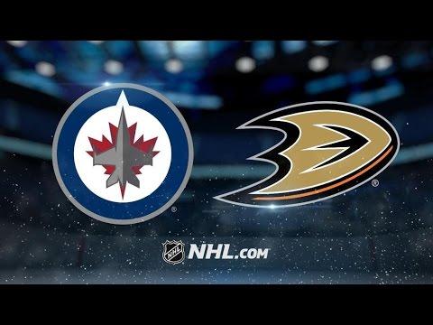 Winnipeg Jets Vs. Anahiem Ducks | NHL Game Recap | March 24, 2017