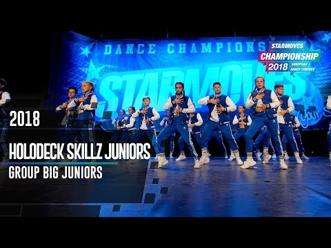 HOLLODECK SKILLZ JUNIORS [5th place]   GROUP JUNIOR BIG   Starmoves Championship 2018
