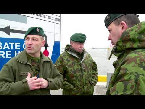 LRT EBU Lithuania Green Men Drills