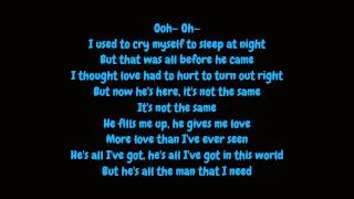 Whitney Houston - All The Man I Need (Lyrics HD)