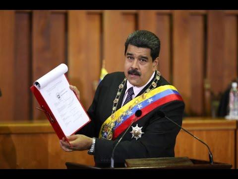 Mensaje Anual 2017 completo (Memoria y Cuenta) del Presidente Nicolas Maduro