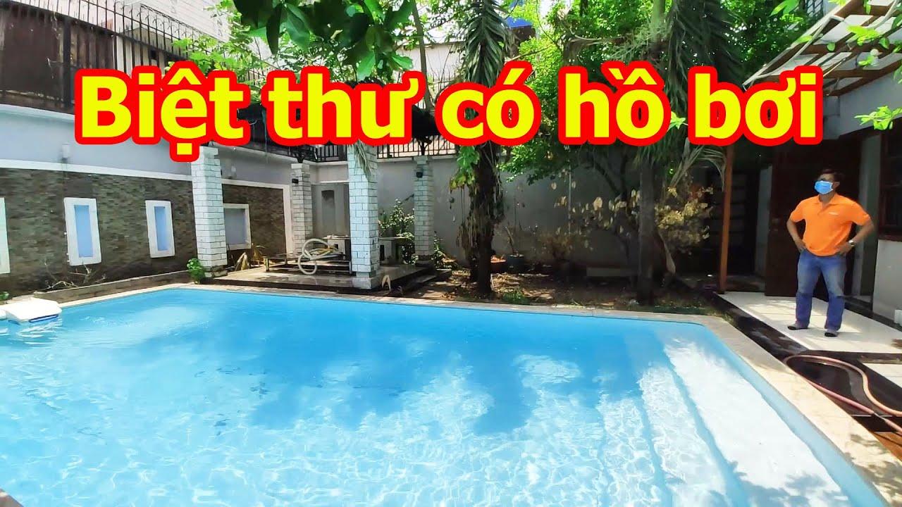 Biệt Thự Sài Gòn Có Hồ Bơi Mặt Tiền Đường 8m