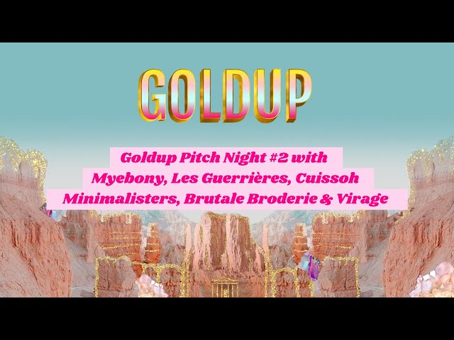 Goldup Pitch Night #2 🎤 [FR]