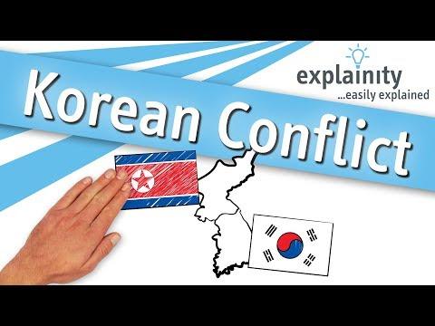 Korean Conflict easily explained (explainity® explainer video)