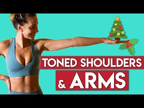 Bye Bye Bat Wings | TONED ARMS | 12 Days of Christmas Workout Challenge