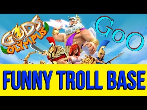 Gods of Olympus Defence Gameplay | Funny Troll Base in Action!!! | Episode 20 | ios HD
