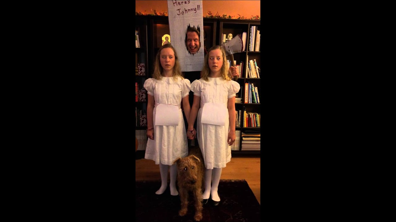 spooky twins from the shining halloween - The Shining Halloween