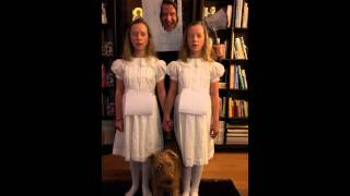 Spooky twins from The Shining - Halloween