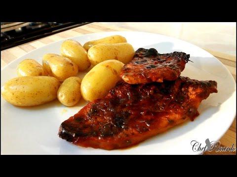 Smokey  BBQ Turkey Breast Steaks- Classic Recipe