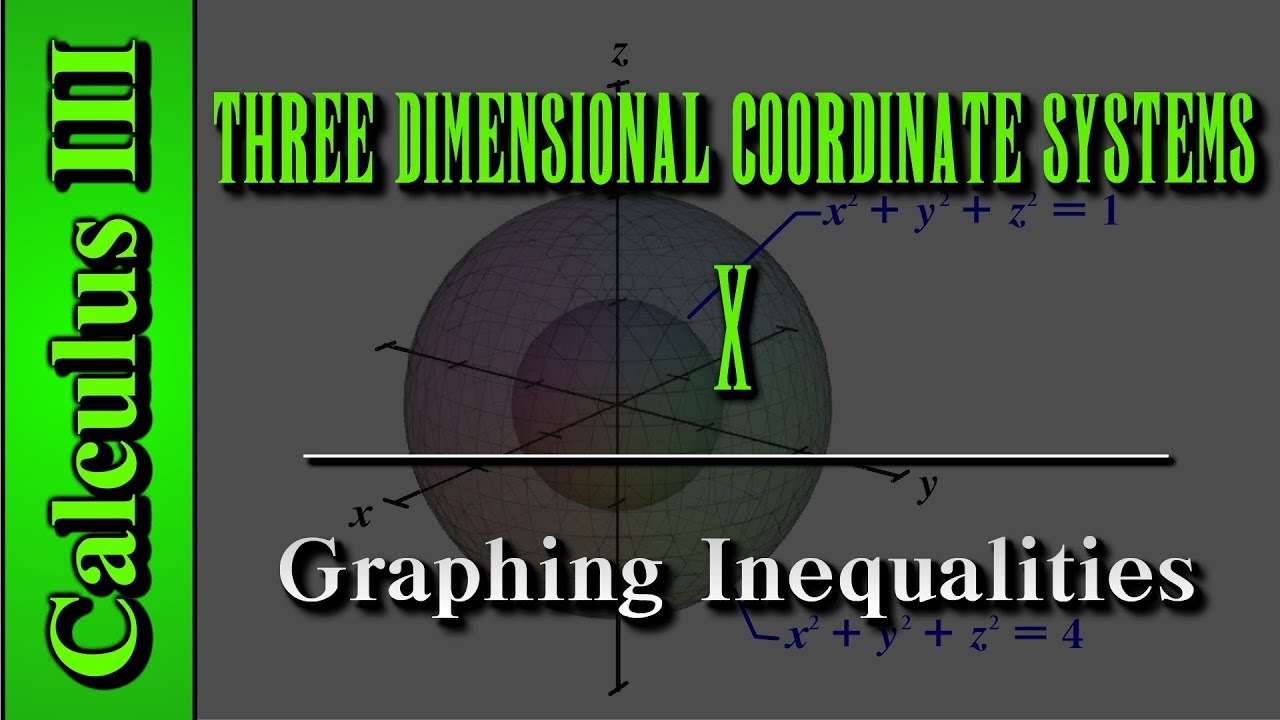 Calculus III: Three Dimensional Coordinate Systems (Level 10 of 10) | Graphing Inequalities