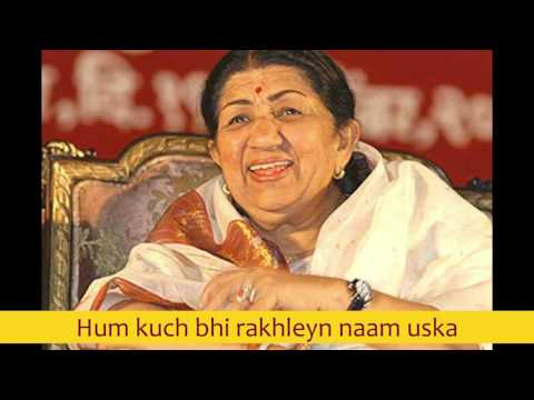 Hum kuch bhi rakhleyn naam uska - Lata Mangeshkar best early 80's songs
