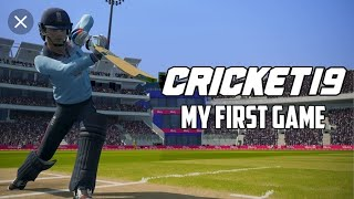 cricket 19 nintendo switch handheld gameplay uk store 2019