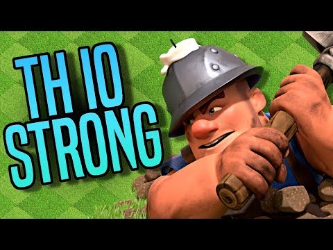 Be The STRONGEST TH10 3 Star Attacker In Clash Of Clans