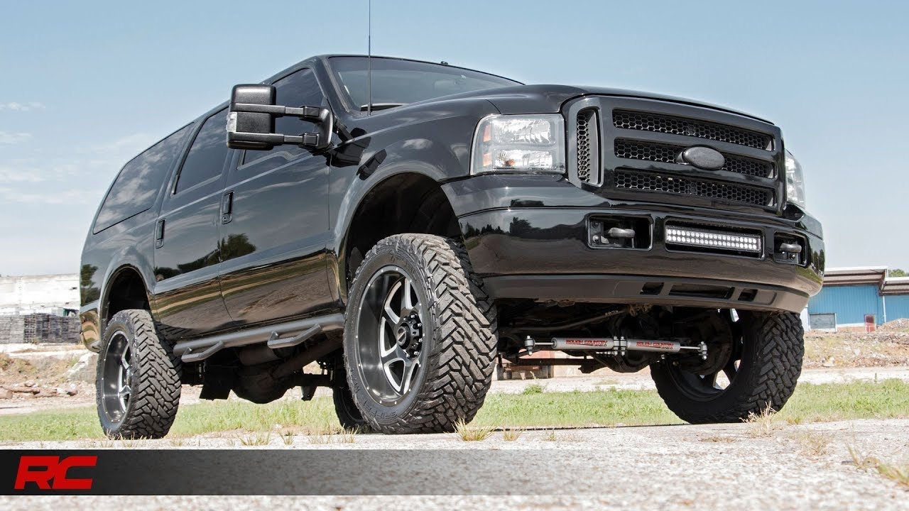 Ford Excursion  Inch Suspension Lift Kit  By Rough Country