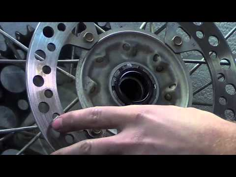 Dirt Bike - Wheel Service -  Take care of your sprockets, spokes and bearings