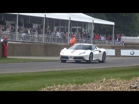 One Off Ferrari 458 Mm Speciale Powersliding Sounds Youtube