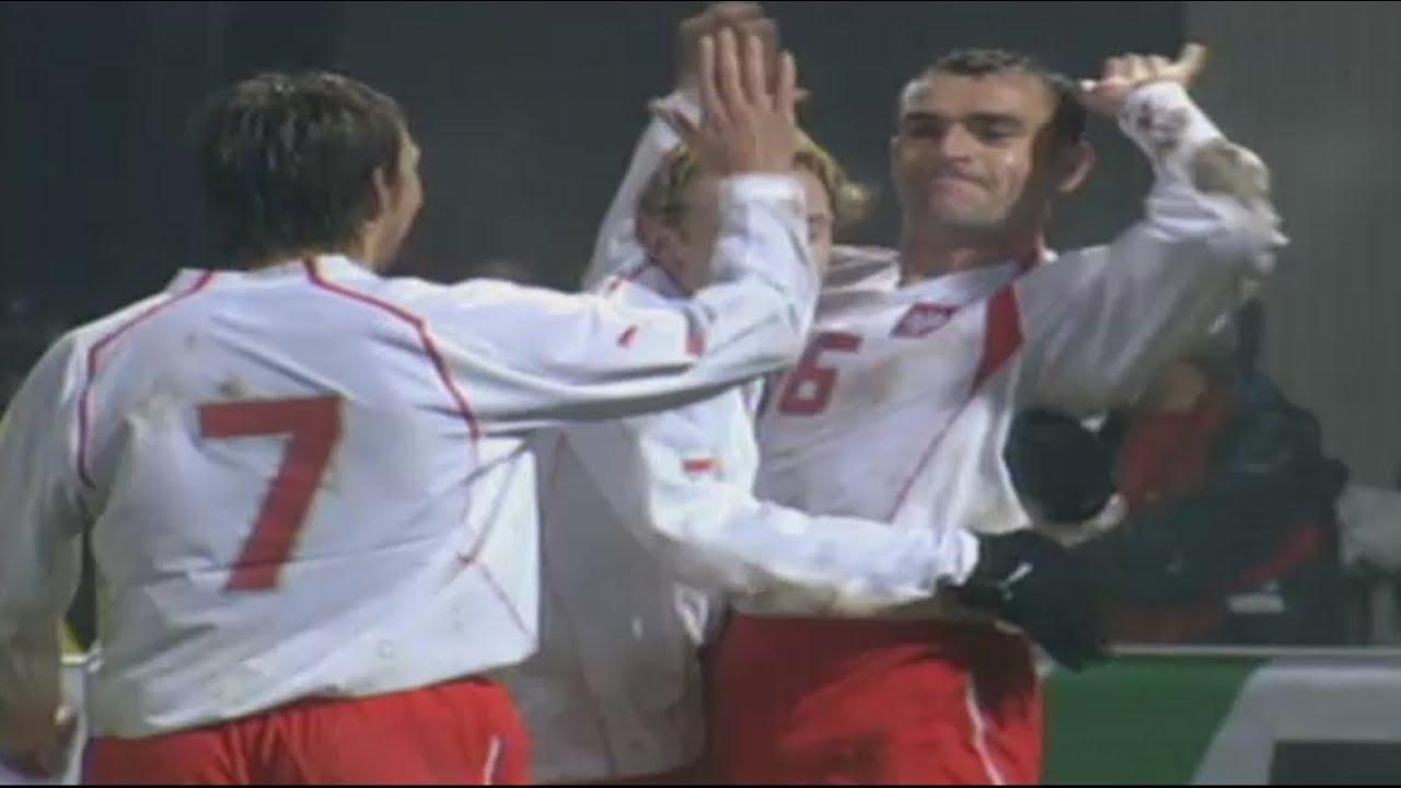 Retro TVP. Polska – Estonia 3:1 (2005). Piechna strzelił, ale na mundial nie pojechał