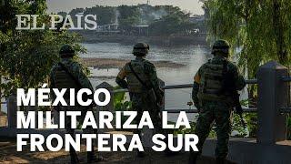 #México | México militariza la frontera sur ante la llegada de la primera caravana de la era Biden
