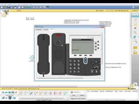 Configuration d'un vlan dédié à un téléphone IP