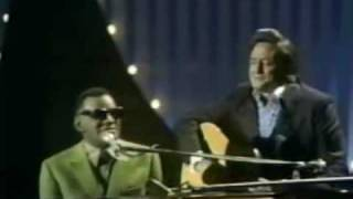 Ray Charles & Johnny Cash - I'm Busted