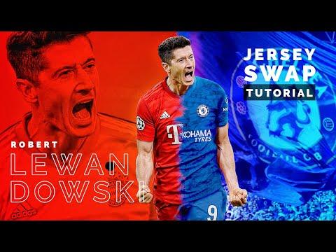 Gimp Tutorial : How to Jersey Swap | Robert Lewandowski to Chelsea thumbnail