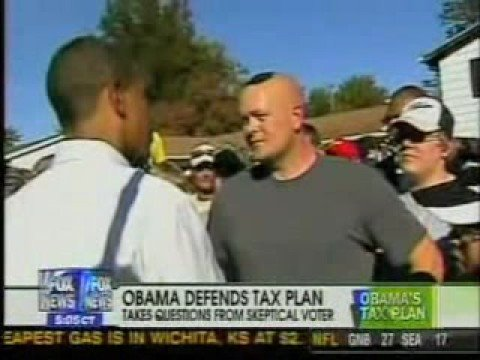 Obama - Spread the Wealth Around Joe the plumber