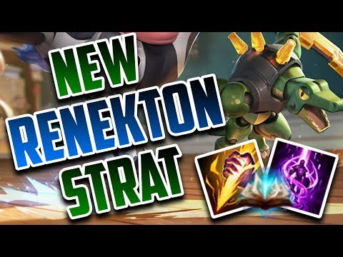 SoloRenektonOnly - SPELLBOOK RENEKTON TO WIN CHATS HEART!!!