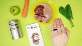 Натуральная еда для собак, рецепты для собак от NaturalFoodForDogs™