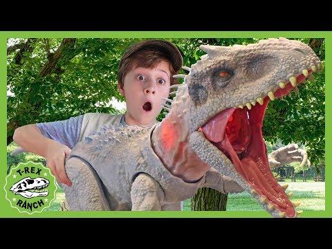 Giant Indominus Rex