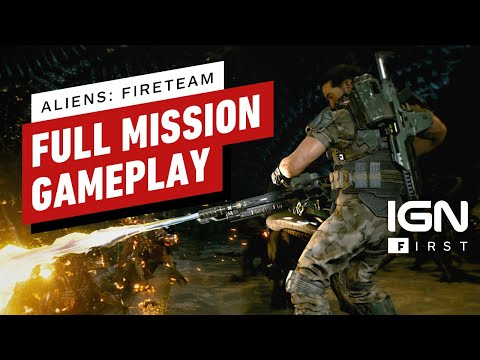 Aliens: Fireteam - Exclusive 25 Minutes of Gameplay | IGN First