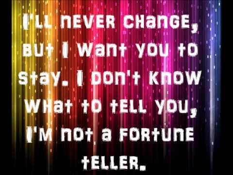 Maroon 5 Fortune Teller Lyrics.wmv