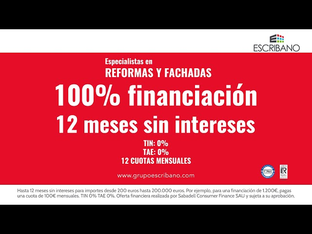 Grupo Escribano. Financiación 2020.