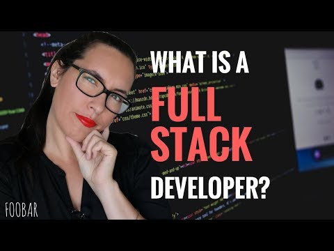 What it means to be a Full Stack developer ? | FooBar