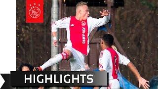 Waar Spektakel Bij Feyenoord B1 - Ajax B1