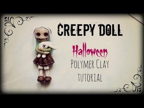 creepy-doll-▪-halloween-▪-polymer-clay-tutorial