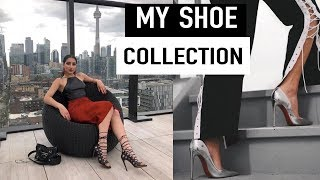 MY DESIGNER SHOE COLLECTION | TOUR MY SHOE CABINET