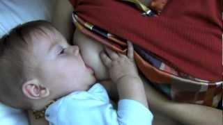 Breastfeeding: massage to increase milk flow