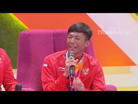 P3H - Dheva & Hafiz Atlet Peraih Emas Cabang Badminton Asian Para Games 2018 (17/10/18) Part 5 thumbnail