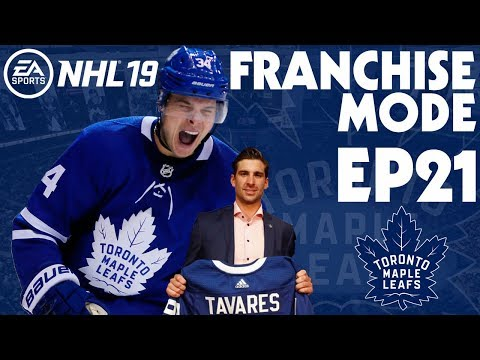 NHL 19 Toronto Maple Leafs Franchise Mode EP21 - Can I Keep the Team Together?