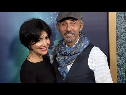 Shaun Toub and Lorena Mendoza