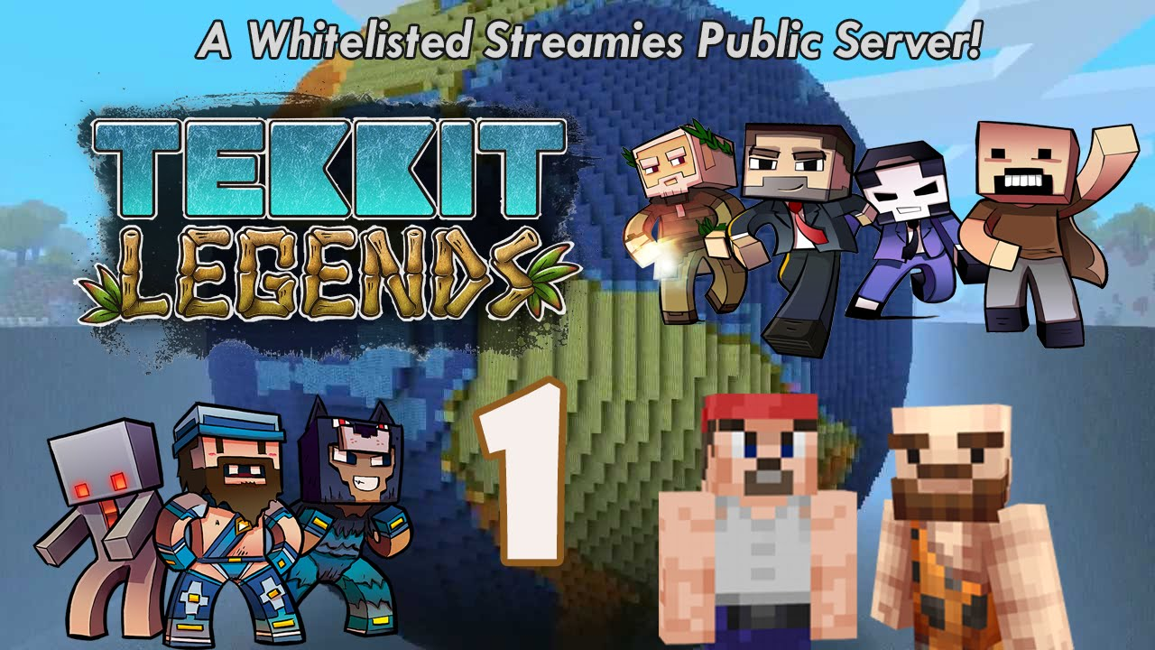 minecraft tekkit legends server cracked