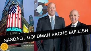 NASDAQ BULLISH ON BITCOIN - GOLDMAN SACHS BTC TRADING!