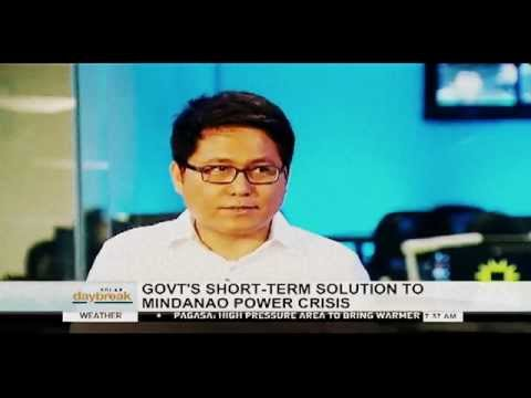 SOLAR DAYBREAK: Romeo Montenegro on the Mindanao power crisis
