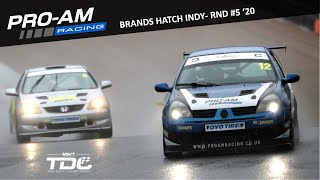 TDC Rnd 5 - Brands Hatch Indy | Race | Renault Clio 182 | 31.10.20 (Onboard)