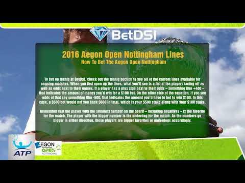 ATP Tennis Odds - 2016 Aegon Open Nottingham Betting