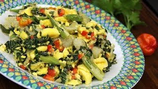 Ultimate Caribbean Breakfast Plate 1-tasty Tuesday's | Caribbeanpot Com