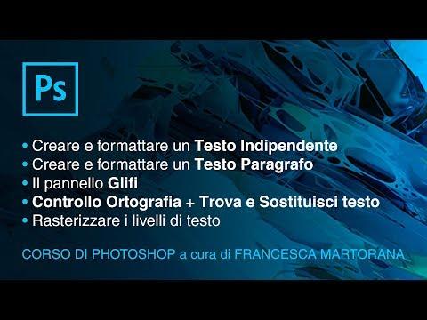 PHOTOSHOP CC - Tutorial 12: Testi In Photoshop